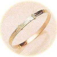 Baby's gold bracelet