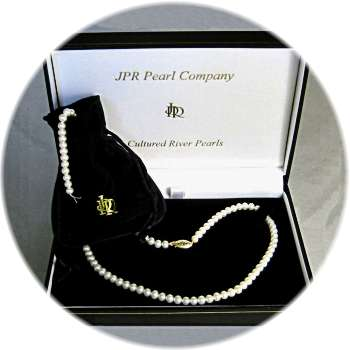 Pearl Christening Necklace