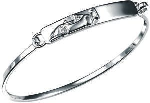 Baby boy's silver bracelet
