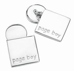 Page Boy Cuff Links