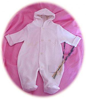 Baby's winter suit
